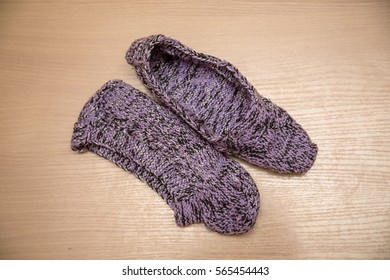 6e6f26a01651a Imágenes, fotos de stock y vectores sobre Wool Slippers | Shutterstock