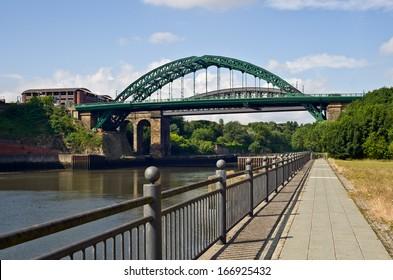 Wearmouth Bridges in Sunderland, Tyne and Wear, UK