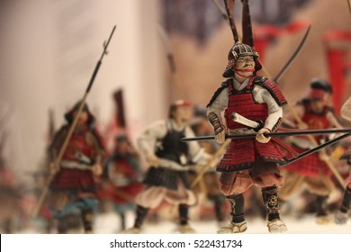 Wears of soldier in Japanese older time. Samurai wares. War of samurai.