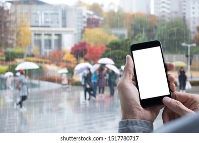 Smartphone Show Screen Stock Photos Images Photography