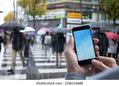 Rain Screen Images, Stock Photos & Vectors | Shutterstock