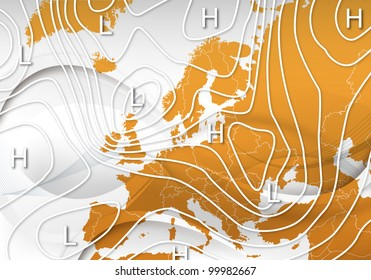 A Weather Map of Europe