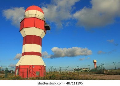 Weather radar near airport of Gdansk, Poland