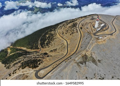 Weather station atop of Mont Ventoux