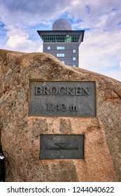 weather station on mountain Brocken