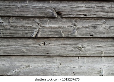 Weathered barn boards sun bleached nearly white