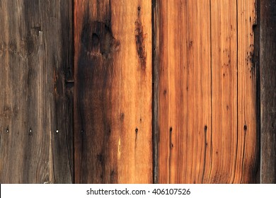 Weathered barn wood wall background.