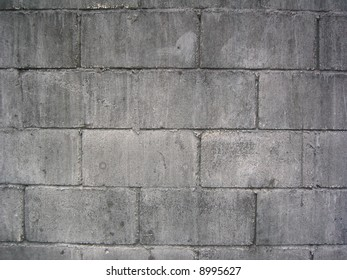 weathered cement brick wall
