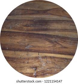 weathered ebony wooden board