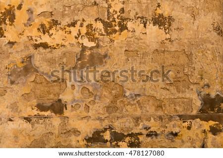 Weathered globerigina limestone wall