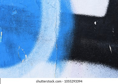 weathered graffiti art detail, youth abstract expression, street art wall piece creative urban color contemporary culture