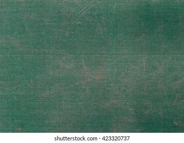 Weathered green canvas texture with scratches. Background and texture fir design.