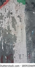 Weathered paint spilled wall background