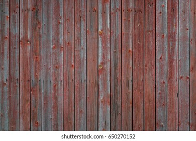 Weathered red wood wall texture