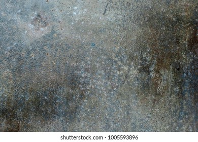 weathered steel surface