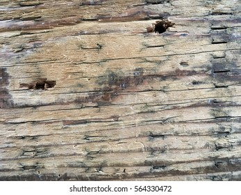 Weathered wood board