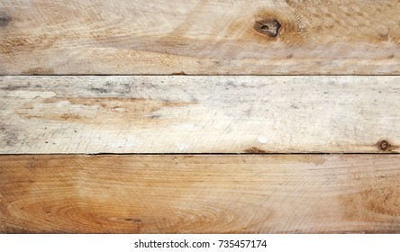 Weathered wooden timber planks - background texture.