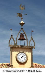 Weathervane of the rooster of Morón, Soria, Spain, Popular architecture,