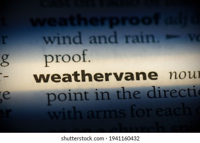 weathervane word in a dictionary. weathervane concept, definition.
