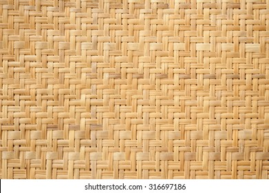 weave bamboo wood pattern for background