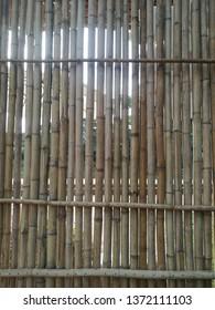 Weave blackground bamboo