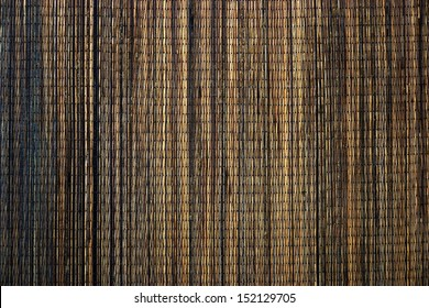 The weave from palm fiber. Used for decoration.