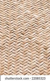 weaved straw