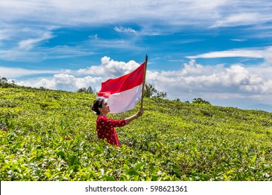 Weaving The Flag at Tea Plantation
