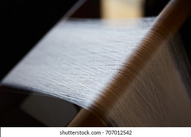 The weaving machine, Abstract background,Silk