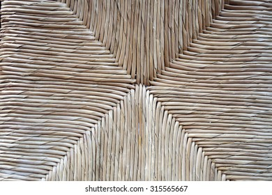 the weaving of Palm fronds