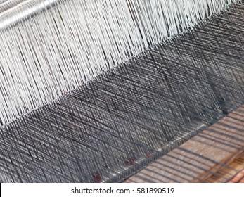 Textile Weaving India Images, Stock Photos & Vectors