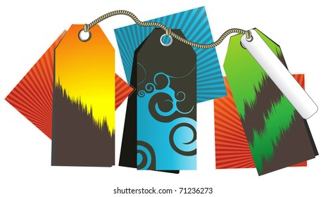 Web banners, stickers at a discount for promotional purposes