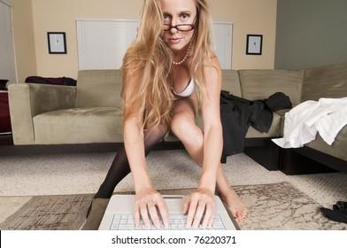 Web Cam Striptease #22