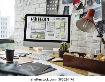 Web Design Layout Internet Template
