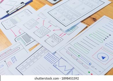Web designer, creative planning, application development, user experience concept outline.