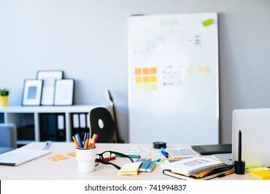 Web designer desk