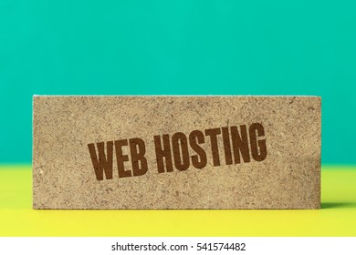 Web Hosting, Technology Concept
