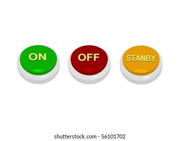 web power button