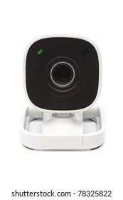 web video camera on a white background