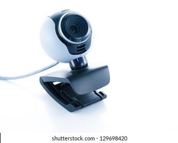 webcamera isolated on a white background