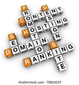 website (3D crossword orange series)
