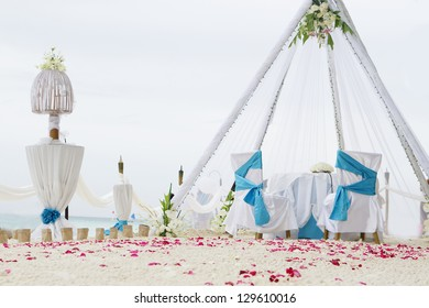 Wedding Table Decoration Beach Images, Stock Photos & Vectors ...