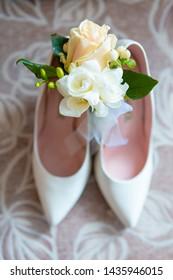 wedding attributes of brides. wedding accessories. wedding trifles