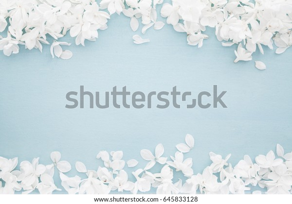 Wedding Background White Blossoms On Baby Stock Photo Edit