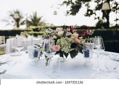 Flower Arrangement On Table Images Stock Photos Vectors Shutterstock