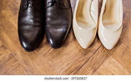 wedding beautifull shoes, man's shoes, woman's shoes