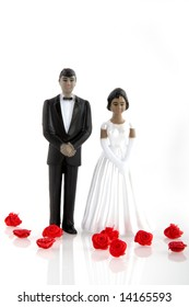 wedding from black couple