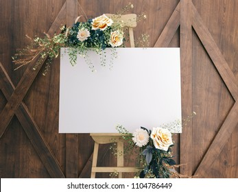Wedding Board Mockup