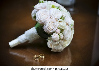 Wedding bouquet for the bride on her special day