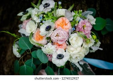 Wedding bouquet. flower